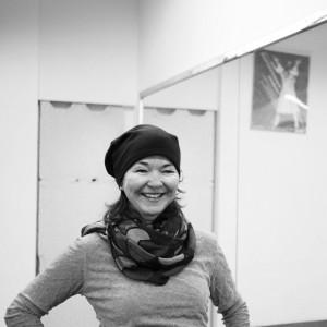 Tanztrainerin Carola Kleinsorge
